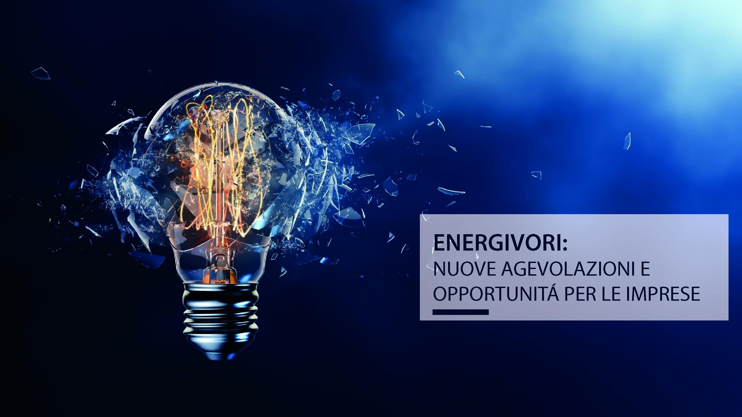 Energivori 2018 – Terzo elenco definitivo