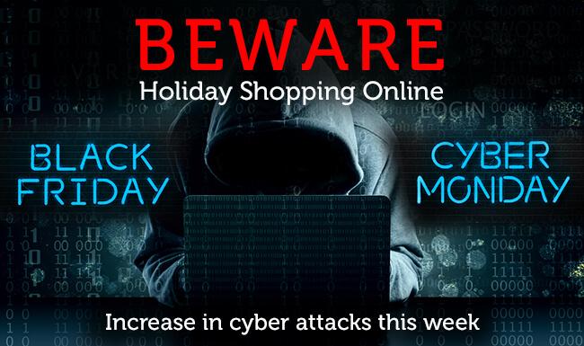Black Friday & Cyber Monday – Previsti attacchi informatici